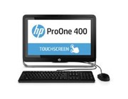 HP ProOne 400 G1 (21.5 inch Touch) All-in-One PC Core i3 (4160T) 3.1GHz 4GB 500GB DVD Writer WLAN BT Windows 8.1 Pro 64-bit (HD Graphics 4400)
