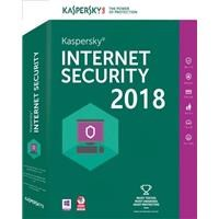 Kaspersky Lab Internet Security 2018 3 Devices 1 Year Retail UK