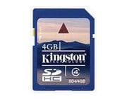 4GB Kingston SDHC Card