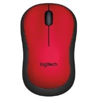 Logitech M220 SILENT Wireless Mouse (Red)