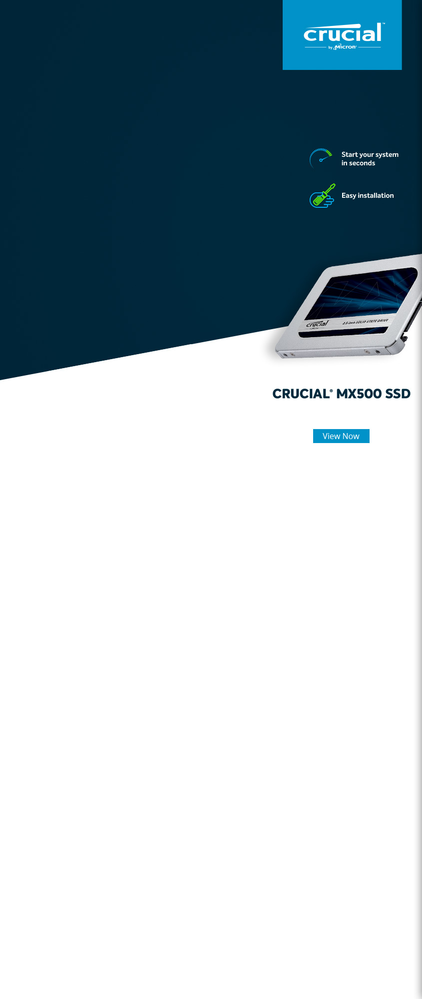 Crucial BX500 120GB 2 5